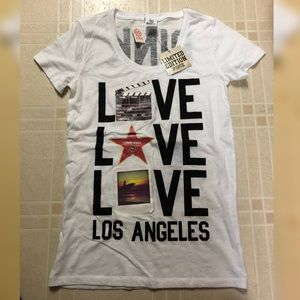 Victoria's Secret PINK Los Angeles Limited T-Shirt